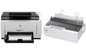 Sewa Printer Pita, Tinta, Laser